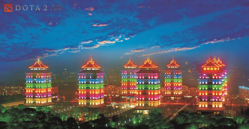 图片: 图4:华西村塔群夜景.jpg